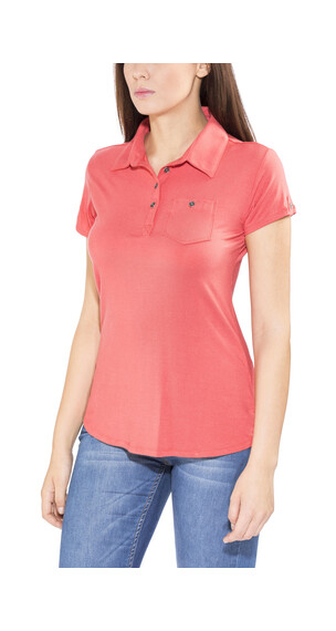Columbia Spring Drifter Polo Women sunset red